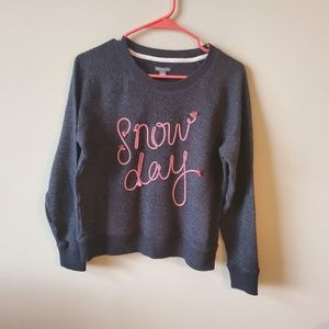 Aerie Snow Day Womens Sweatshirt Size Small